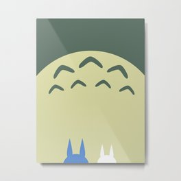 Minimalist Tree Sprit (Tot-oro) Metal Print