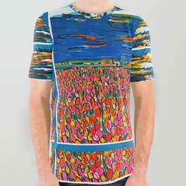 Light in My Art All Over Graphic Tee