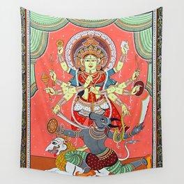 Hindu Durga 5 Wall Tapestry