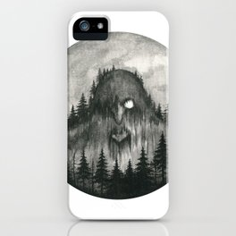 Skogtroll iPhone Case