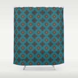 Fleur 3 Shower Curtain