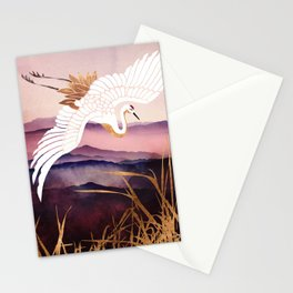 Elegant Flight III Stationery Cards