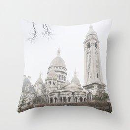Saint sky, Paris Throw Pillow