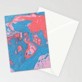 Marble texture 10 Stationery Cards