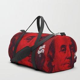 Benjamin Dark (red) Duffle Bag