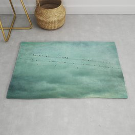 Birds on Wires Rug