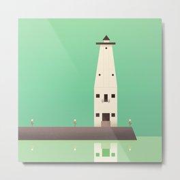 Frankfort Lighthouse Metal Print