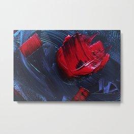 Bloody Blue Metal Print