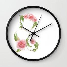 Three Hoops Wall Clock