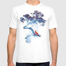 The last apple tree White LARGE Mens Fitted Tee