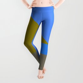 Blue Me Away by Kimberly J Graphics Leggings