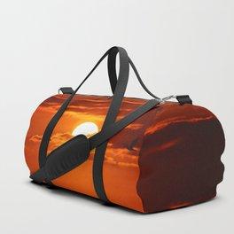 Red Sunset2 False Bay Duffle Bag