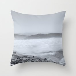 The serenity valley Throw Pillow