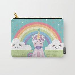 Unicorns + Rainbows Carry-All Pouch