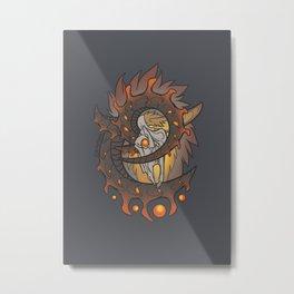 Elder Sign - Aries Metal Print