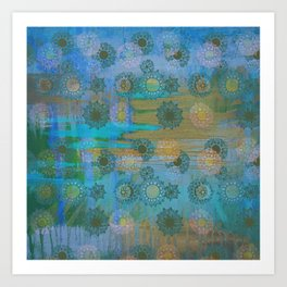 Sunshine after the rain Art Print