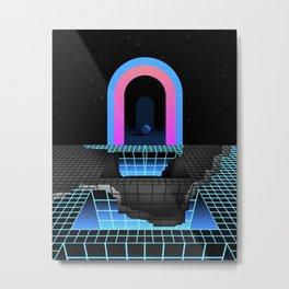 DÉTRUIT 1984 Metal Print