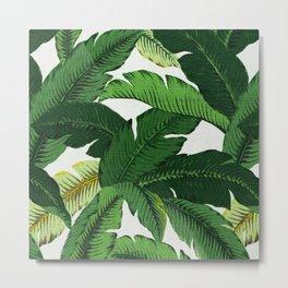 banana leaf palms Metal Print