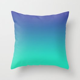 LUSH COVE - Minimal Plain Soft Mood Color Blend Prints Throw Pillow