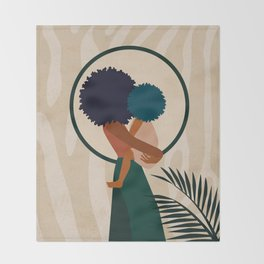 Stay Home No. 3 Throw Blanket