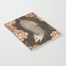 The Opossum and Peonies Notebook