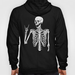 Rock and Roll Skeleton Hoody