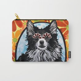Gizmo the Border Collie Carry-All Pouch