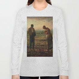 The Angelus Jean Francois Millet Long Sleeve T-shirt
