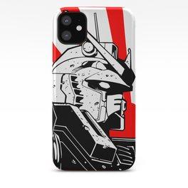Gundam japan sun iPhone Case