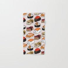 Sushi Persian Cat Hand & Bath Towel