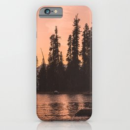 Forest Island at the Lake - Nature Photography iPhone Case