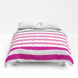 Stripes Gradient - Pink Comforters