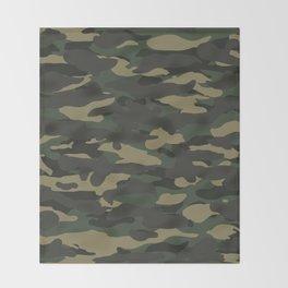 Camo Throw Blanket