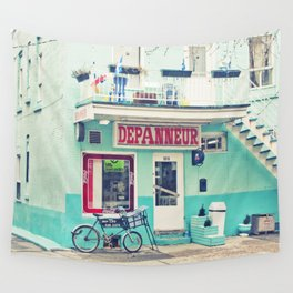 Montreal  - Dépanneur Wall Tapestry