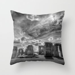 Ancient Stonehenge Throw Pillow