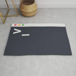 The Command Terminal Rug