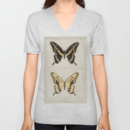 Giant Swallowtail | Moths and Butterflies of the United States | Vintage Butterflies | Unisex V-Neck