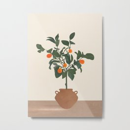 Kumquat Metal Print