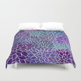 Floral Abstract 22 Duvet Cover