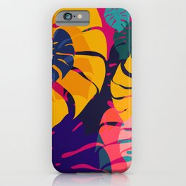 Aloha Floral Pop Art Pattern iPhone Case