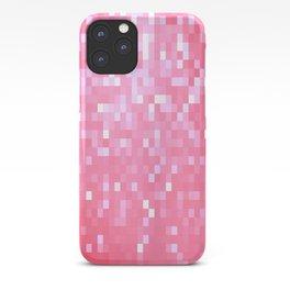 Bubblegum Pink Pixel Sparkle iPhone Case