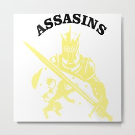 Assassins Metal Print