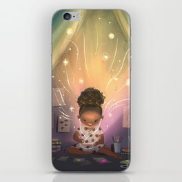 Creative Space iPhone Skin