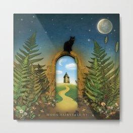 Moon Fairytale VI Metal Print
