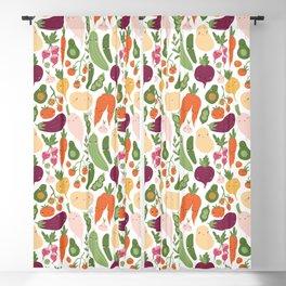 Cute vegetables Blackout Curtain