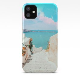 Surreal Greece #photography #travel iPhone Case