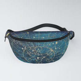 Star Map :: City Lights Fanny Pack