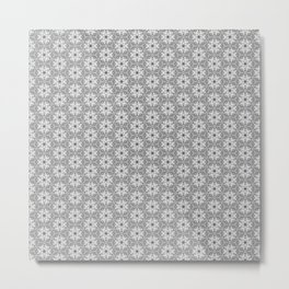 Geometrical flower 1 Metal Print