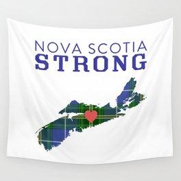 Nova Scotia Strong Wall Tapestry