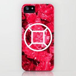 Ruby Candy Gem iPhone Case